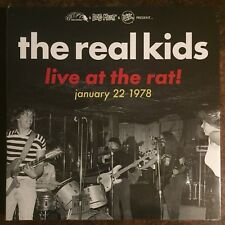 THE REAL KIDS Live At Rat LP NEW dmz modern lovers taxi norton primitive soul