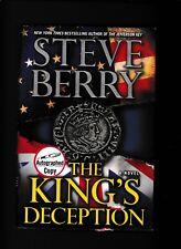 THE KING'S DECEPTION---STEVE BERRY---1s1st2013---HC/DJ---SIGNED