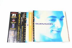 SURVIVOR JOHN ROBINSON AVCD-11287 CD JAPAN OBI A14344