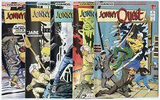 Jonny Quest #2 - 24  Complete Run + 5 more  avg. NM- 9.2  Comico  1986  No Resv