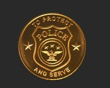 1 oz Copper Round - POLICE - To Protect and Serve   #131