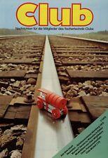 Fischertechnik Club Nachrichten 1/75 1975 Kranantrieb Schiffsschaukel Morsen