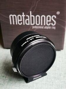 Metabones Speedbooster Leica R/ Sony E mount + Boxe and caps