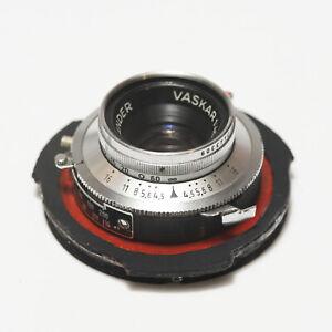 Voigtlander Perkeo portrait lens Vaskar 4.5/80 adapted to P6 Pentacon SIX