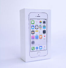 *New Sealed* - Apple iPhone 5s 16GB Silver (Straight Talk) Model A1453 MN6T2LL/A