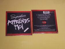 CD SINGLE NEUF SUPERBUS - APPRENDS-MOI -