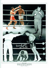 Brian LONDON Signed Autograph Boxer 16x12 Montage Photo AFTAL COA
