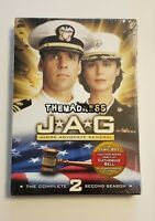 New Sealed JAG - The Complete Second Season 4-Disc Set DVD 2006