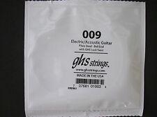 Ghs Einzel-Saite Corde de Guitare Électrique 009