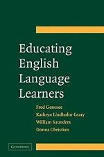 Educating English Language Learners: A Synthesis of Research Evidence  Genesee,