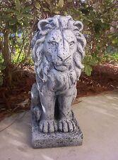 OLD WORLD LION-Concrete mold-Latex/fiberglass