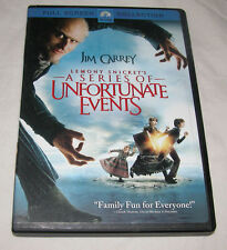 Lemony Snickets A Series of Unfortunate Events DVD, 2005, Full Screen Collection