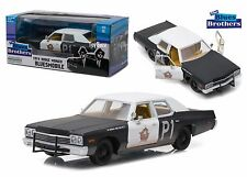 GREENLIGHT 1:24 HOLLYWOOD THE BLUES BROTHERS BLUESMOBILE DODGE MONACO 84011