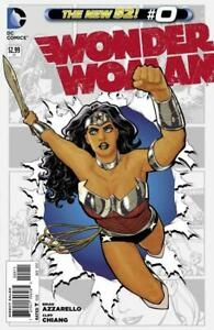 WONDER WOMAN #0 AND 11 COVERS OF THE DC NEW 52 SERIES ALL NEAR MINT.