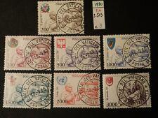 VATICANO 1980 POSTA AEREA  SERIE USATA .