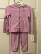 Juicy Couture Girls Purple 2pc Sweatsuit Size 5 Brand new w/ Tags