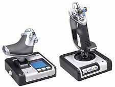 Saitek X52 Desktop Joystick & Throttle Flight Control System + Flight Sim X GOLD
