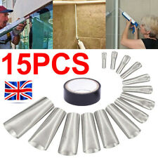 More details for 15x perfect caulking finisher nozzle & tape tool sealant filler glue stainless