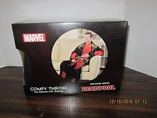 MARVEL COMICS DEADPOOL Snuggie Cozy Blanket With Sleeves Comfy Throw New