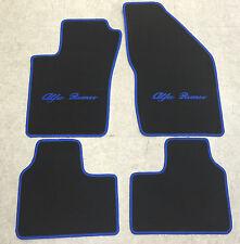 Autoteppiche Fußmatten für Alfa Romeo 159 schwarz blau 4teilig Neuware