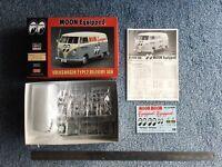 Hasegawa 1:24 Volkswagen Type 2 Delivery Van 'Moon Equipped' kit #20249