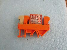Weidmuller / Schrack Model: RP011024 Relay with Base.   <
