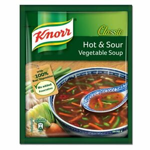 Knorr Chinese Hot and Sour Veg Soup, 43g + FREE DELIVERY USA