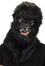 NWT Furry Gorilla Mouth Mover Mask  Realistic Planet of Apes Costume Faux Fur