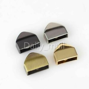 Metal Zipper end Clips Stopper With Screws bag Luggage Repair hardware accessory