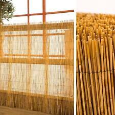 Schilfrohrmatte als Sichtschutz 100 cm x 600 cm für Garten Balkon Terrasse