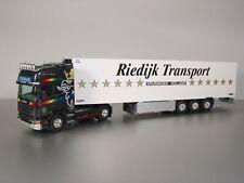 Tekno Scania R 144L 530 Topline + Koeloplegger 1:50 Riedijk Transport (RG)