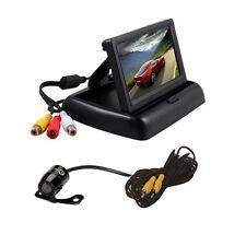 "4.3"" TFT LCD Monitor+Car Rear View System Backup Reverse Camera Kit Waterproof"