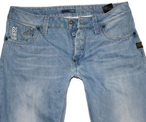 G-Star Herren Jeans ATTACC LOW STRAIGHT W32 L32 blau