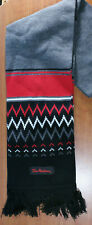 TIM HORTON'S BRAND New BLACK/RED SCARF ~ NEW