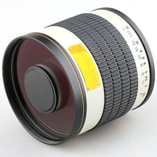 500mm f/6.3 Telephoto Mirror Lens for M4/3 Mount Camera  Panasonic +T2 Adapter