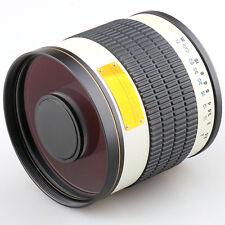 500mm f/6.3 Mirror Lens for Micro 4/3 M4/3 Mount Camera MFT DSLR + T2 Adapter