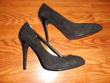 Guess By Marciano Women Pump Heel Black Suede Shoes Sz 39