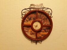 New Listing 2003 Bradford Exchange Clock Gregg Alexander Works Great