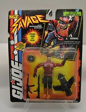 1994 Hasbro GI Joe Sgt. Savage Jet-Pack General Blitz figure MOC