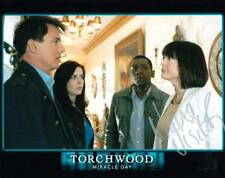 NANA VISITOR as Olivia Colasanto - Torchwood GENUINE AUTOGRAPH UACC (R8220)