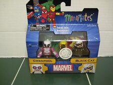 Marvel Minimates GwenPool and Black Cat  Exclusive Set