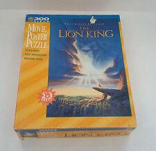 walt disney The lion king movie poster puzzle 300 large piece