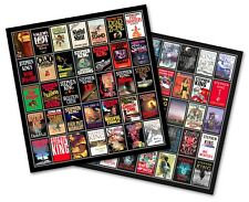"STEPHEN KING 1st Ed. Hardcover Bibliography TWIN PACK magnet lot (4.75"" x 4.75"")"