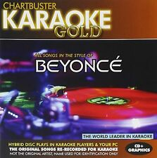 Karaoke Gold: Songs in the Style of Beyonce [CD]