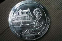 Low Mintage! 2017 5 oz .999 Silver ATB Frederick Douglass Douglas Coin Round
