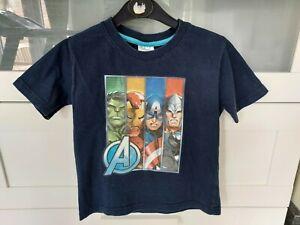 Boys Marvel Avengers T Shirt, Age 5 -6 Years