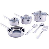 *NEW* 10 PC QUALITY Pots /Pans Cookware Set
