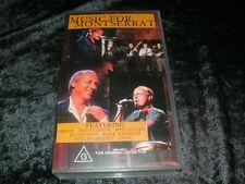 MUSIC FOR MONTSERRAT  PAL VHS VIDEO