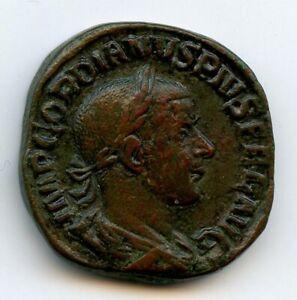 Gordien III (238-244) Sesterce Rome 241-243 Rv/ PMTR P V COS II PP