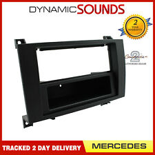CT24MB13 Car Stereo Double Din Fascia Panel Surround For Mercedes-Benz SLK 04-11